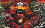 red hulk vs cyborg green hulk