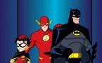 robin, flash and batman