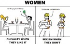 women and chivalry