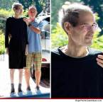 Steve Jobs looks…rough.