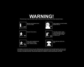 CRAB WARNING