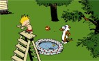 Calvin and Hobbes – Diving