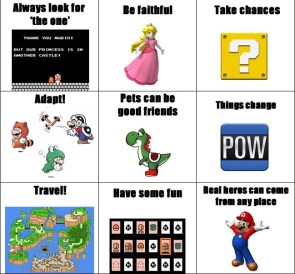 I learned everything from mario