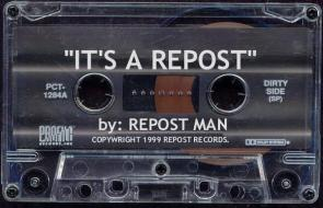 Its a repost – by repost man