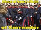 Winner of Frances Medal of Surrender