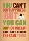 You cant buy happiness