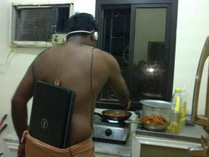 a man in need of a walkman