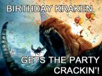 birthday kraken