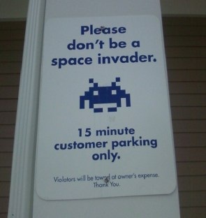 dont be a space invader