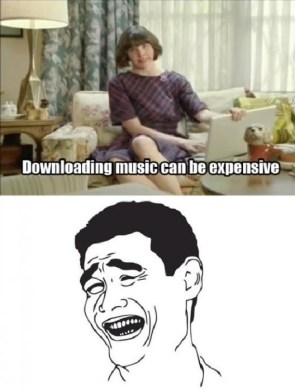 downloading music can be expensive