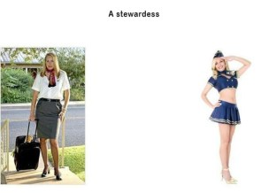 girls vs guys – stewardess
