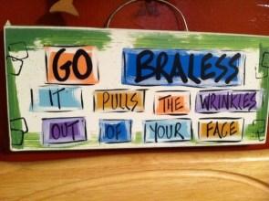 go braless