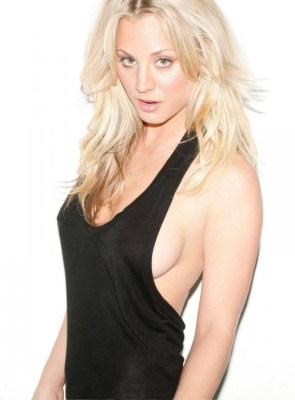 kaley cuoco – maxim magazine march 2010