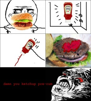 ketchup pre-cum
