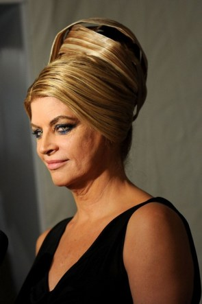 kirstie alley is melting