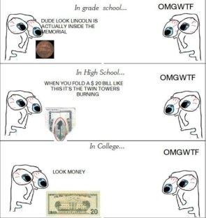 money in school