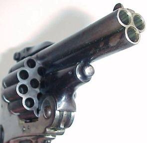 multi-shot pistol