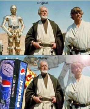 star wars – original vs bluray