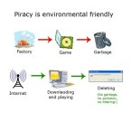 piracy is environmentally friendly