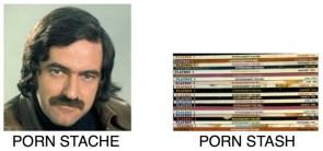 porn stache
