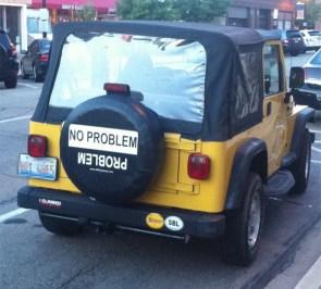 problem vs no problem