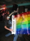 rainbow unicorn keyboard POWER
