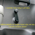 roll the windows down