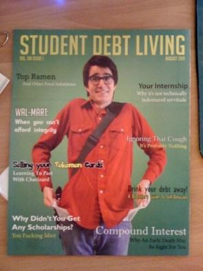 student debt living