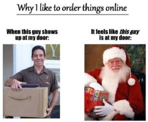 why i like to order things online