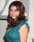Alia Shawkat in blue