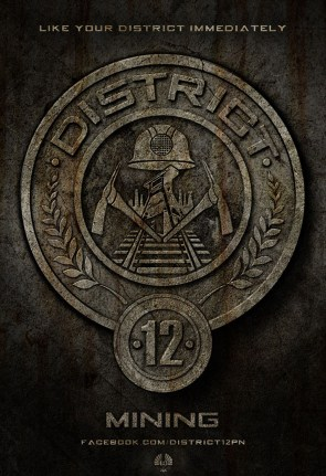 The Hunger Games – District Posters
