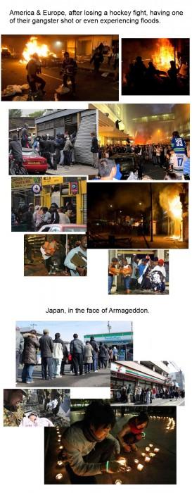 USA and EU vs Japan