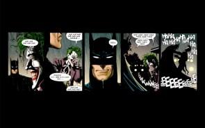 batman and joker share a laugh