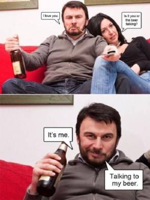beer talking