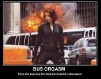 bus orgasm – scarlett johansson