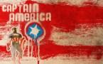 captain america grafitti
