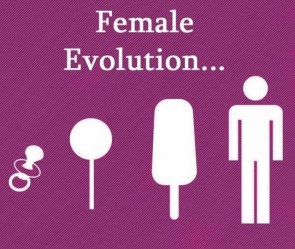 female evolution