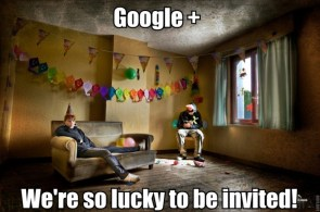 google plus – we are so lucky