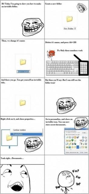hide a folder