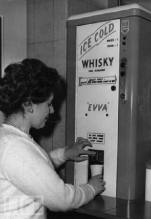 ice cold whisky machine