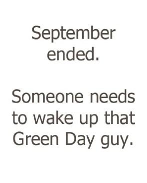 september ended