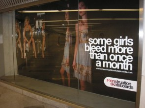 some girls bleed more than once a month