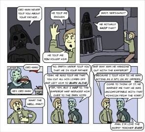 star wars did not make sense