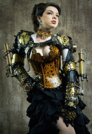 steam punk clevage