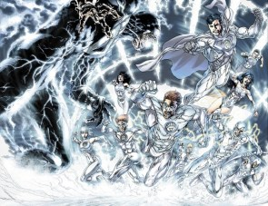 the white lanterns
