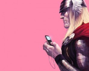 thor has an ipod