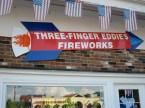 three fingered eddies fireworks
