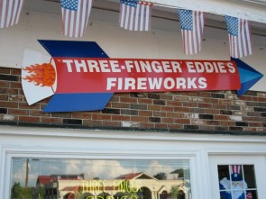 three fingered eddies fireworks