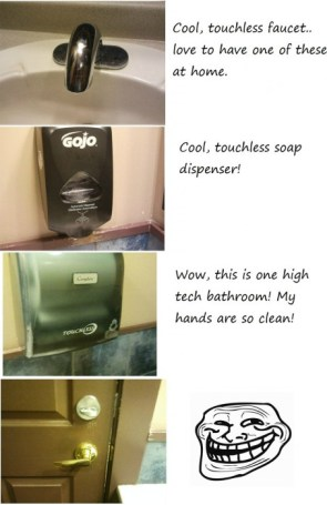 troll bathroom