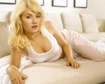 elisha cuthbert – see through pants on a couch